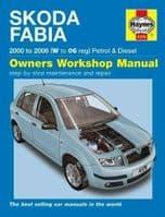 Haynes Manual Skoda Fabia 2000-06 1.2 1.4 Petrol 1.4 1.9 Diesel Workshop Manual